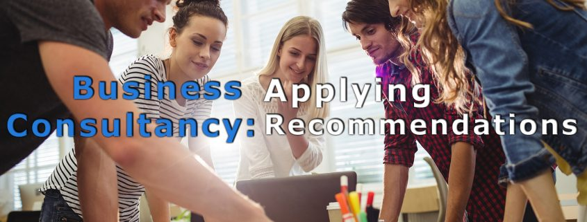 business consultancy applying recommendation