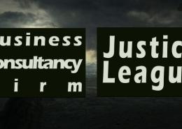 business consultancy justice league